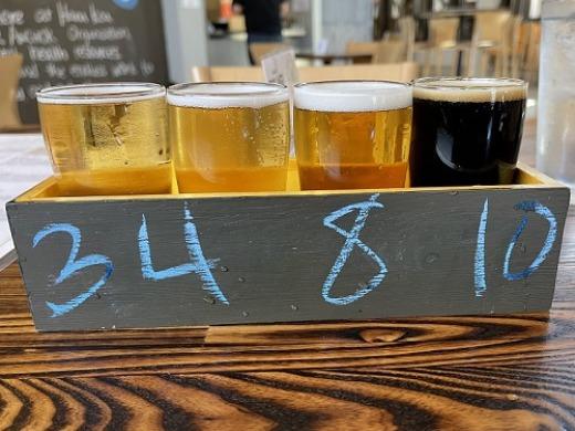 ハナコアブリューイング 飲み比べビール
