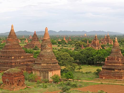 神秘の国 ミャンマー周遊ハイライト 6日間