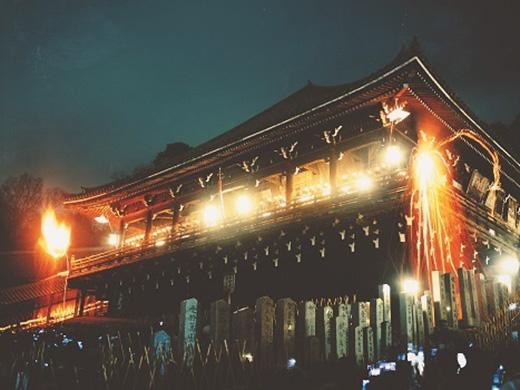 東大寺お水取りと奈良の美酒