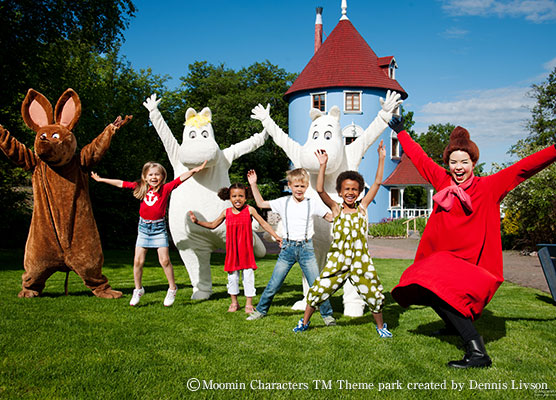 ©Moomin Characters TM Theme park created by Dennis Livson