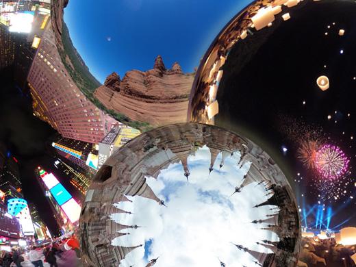 【今だけ】旅行気分!  360°バーチャル観光を楽しもう!