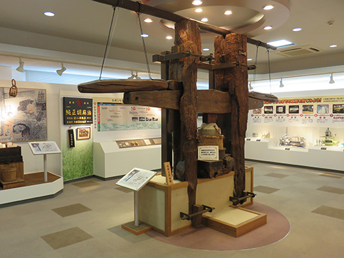 資料展示室「今昔館」 -かどや製油-