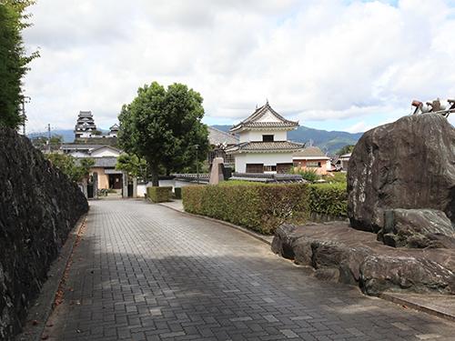 大洲城三の丸南隅櫓公園(お殿様公園)