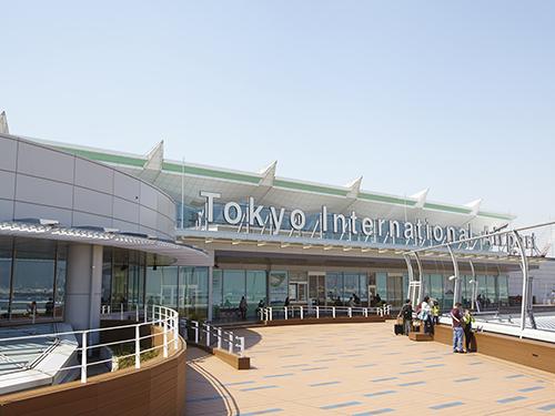 羽田空港展望デッキ(第3ターミナル 5階)