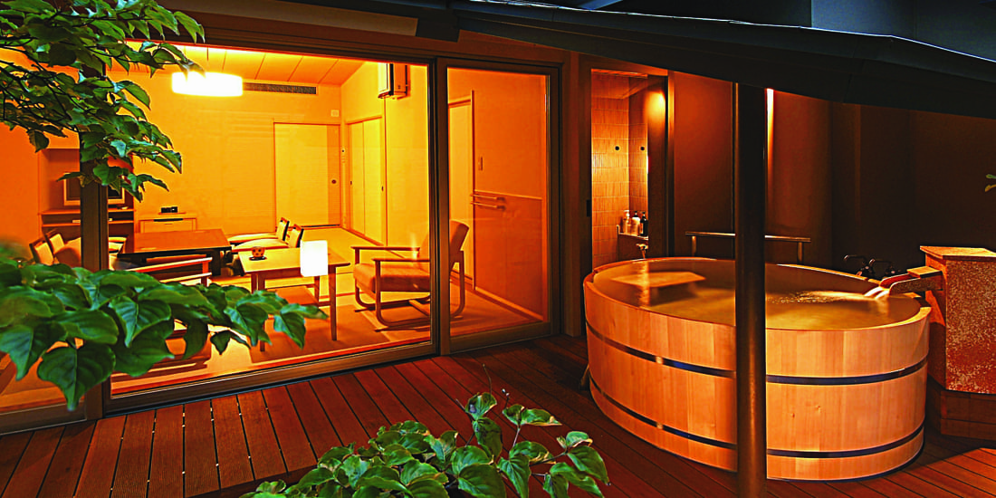 風呂 露天 付き 食 部屋