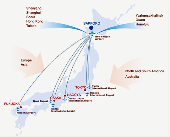 ZMPC International Symposium On Zeolites And MicroPorous - Japan map airports